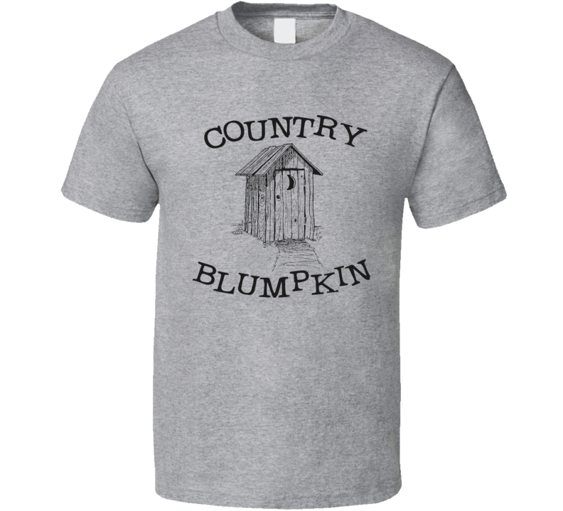 Country Blumpkin funny dirty humour t shirt