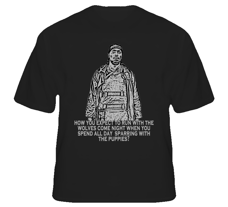 Omar Little The Wire Quote Tv Gangster Black T Shirt T shirt