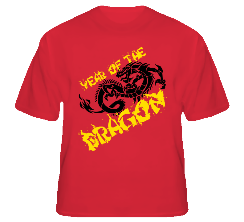 Year Of The Dragon Chinese Lunar New Year T Shirt T shirt