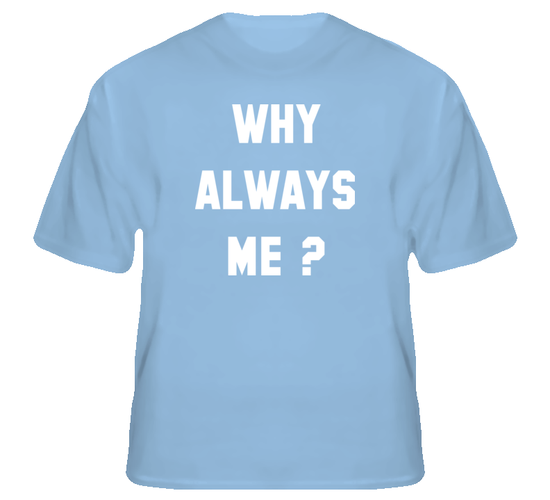 Mario Balotelli Soccer Italy Why Always Me t shirt