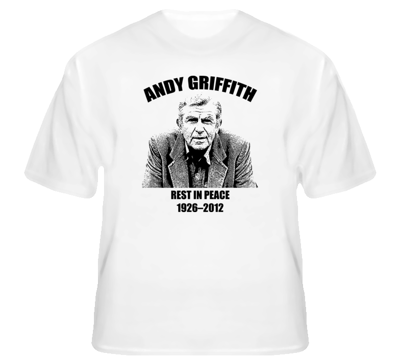 Andy Griffith Rip Matlock American Icon t shirt