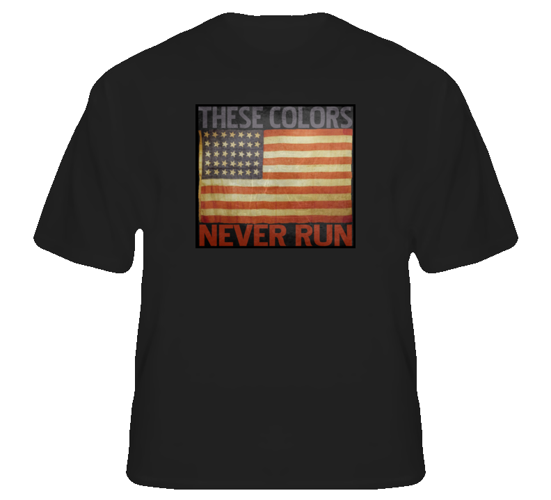 These colors never run USA redneck cowboy patriot t shirt