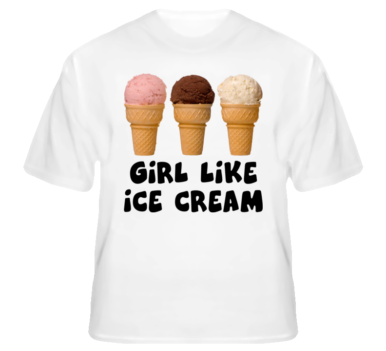 Girl like ice cream funny hip hop dubstep dance Scarface fan t