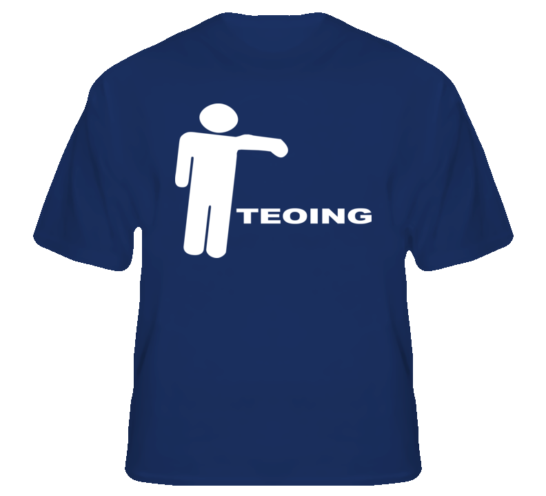 Teoing Te'oing Manti football funny catfish college t shirt