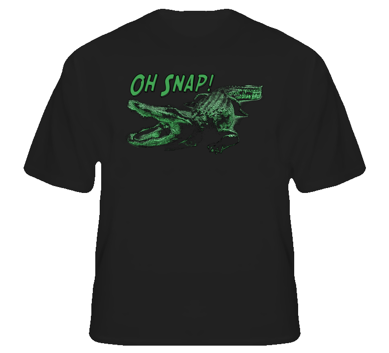 Oh Snap Alligator funny animal fan gator hunter fan t shirt