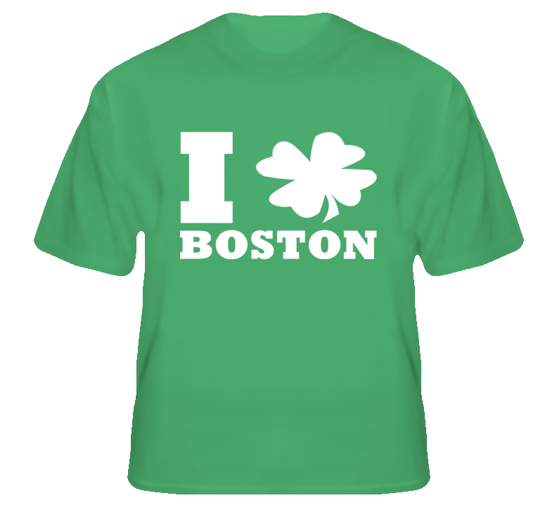 I Clover Boston Love Strong and Proud USA t shirt