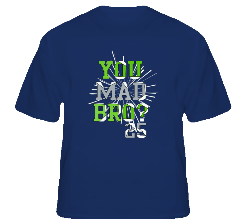 You Mad Bro Sherman Football Seattle fan t shirt