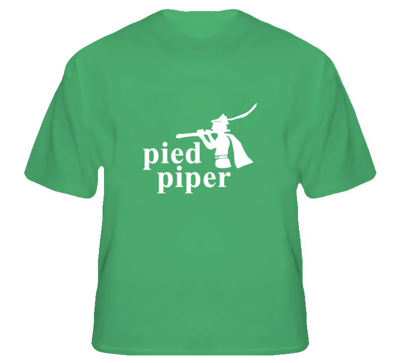 Pied Piper Silicon Valley funny tech geek fan t shirt