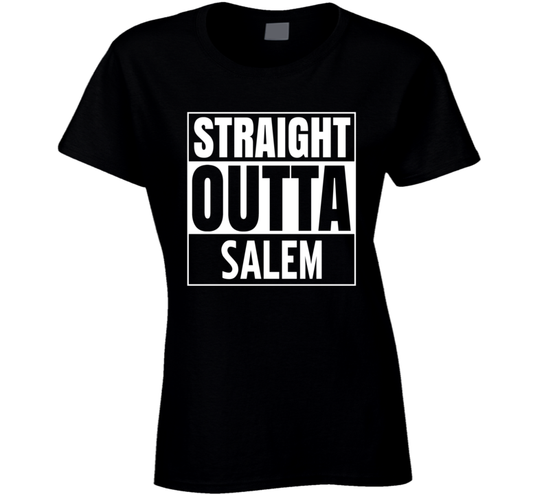 Straight Outta Salem DOOL Soap Funny Parody T Shirt