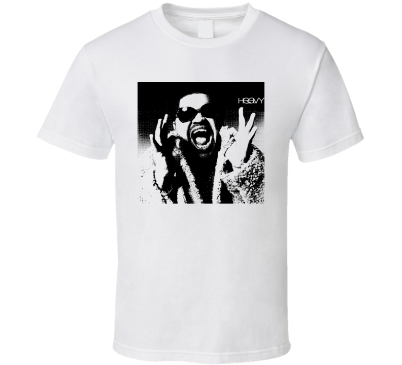 Heavy D Rapper Hip Hop RIP fan white t shirt
