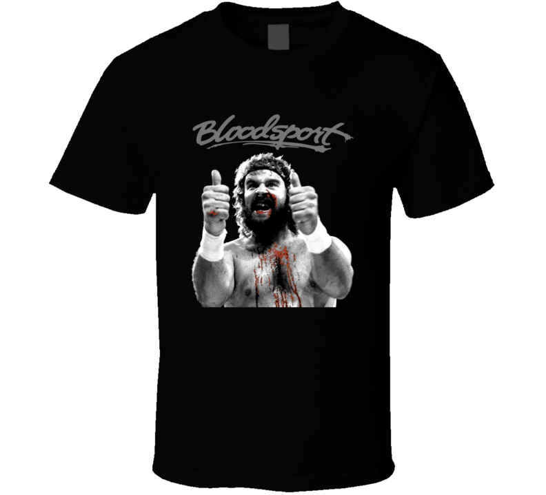 Bloodsport Ray Jackson MMA Karate Movie Fan T Shirt