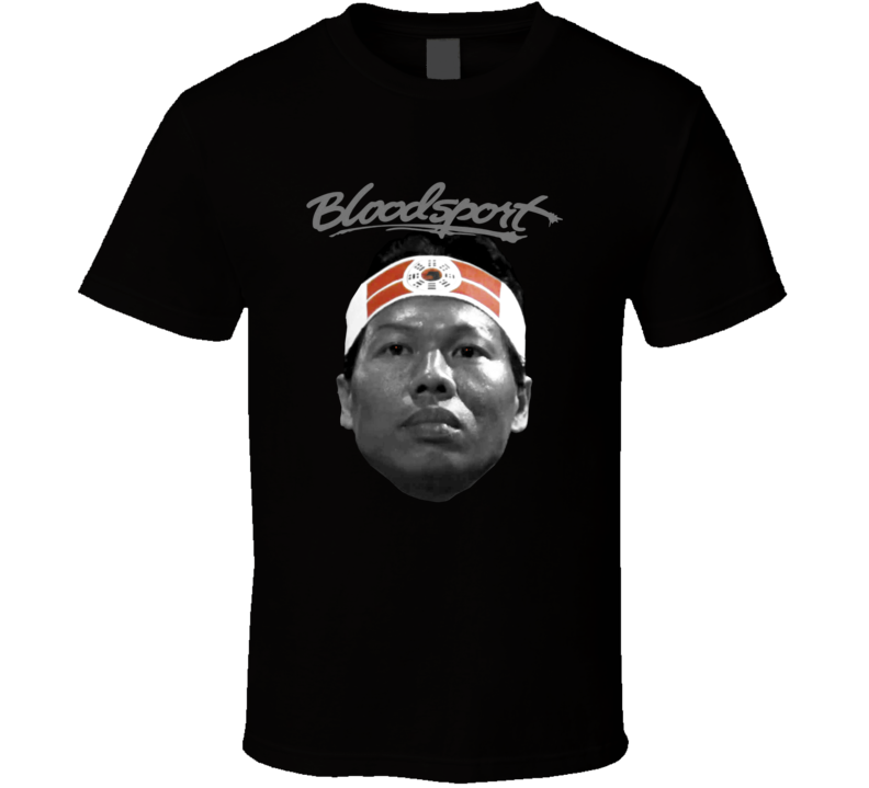 Bloodsport Chong Li Bolo Yeung MMA Movie Fan T Shirt