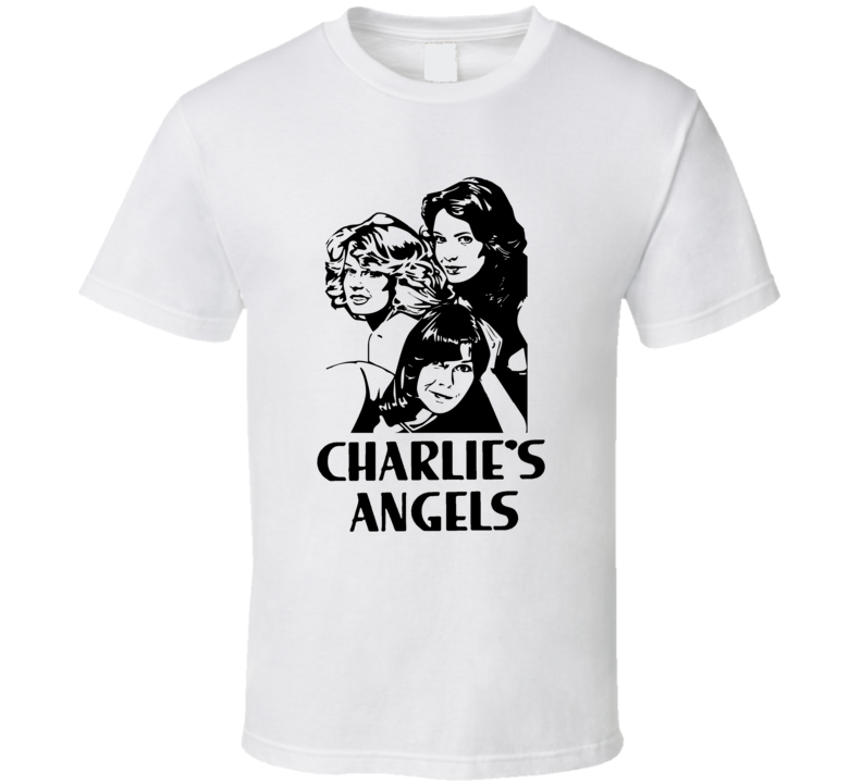 Charlies Angels 70s TV Show Trending Fan T Shirt
