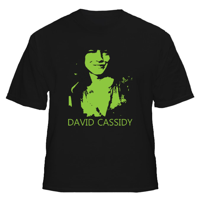 David Cassidy Teen Heartthrob 70s Idol T Shirt