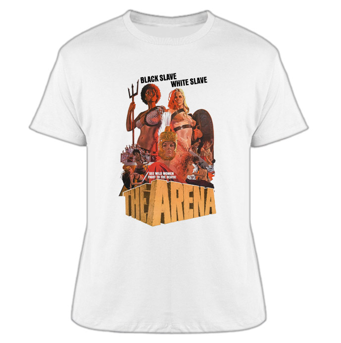 ea5e4836 The Arena Pam Grier Naked Warriors Poster T Shirt