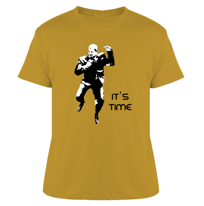Bruce Buffer It's Time Mma T Shirt
