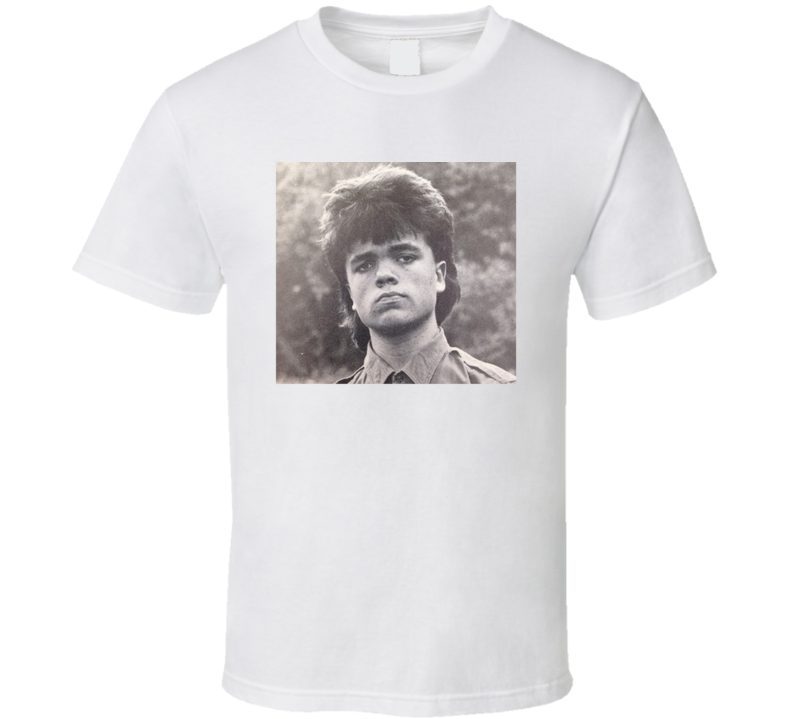Peter Dinklage Trending Teenage Pic GOT Tyrion Funny Fan T Shirt