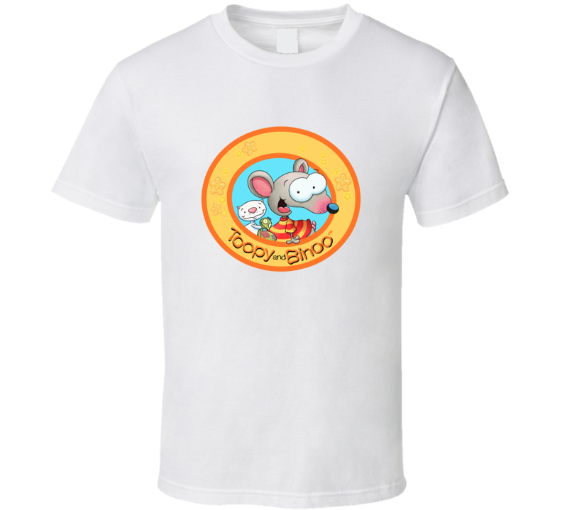 Toopy And Binoo Funny Canadian Cartoon Kids Fan T Shirt