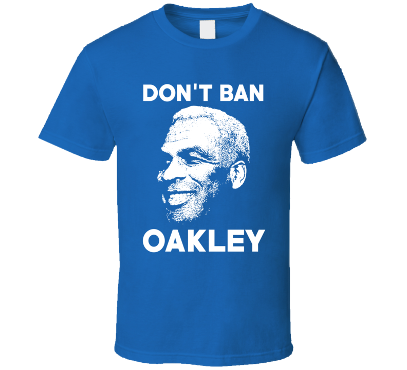 Charles Oakley Don't Ban NY Basketball Fan Trending T Shirt