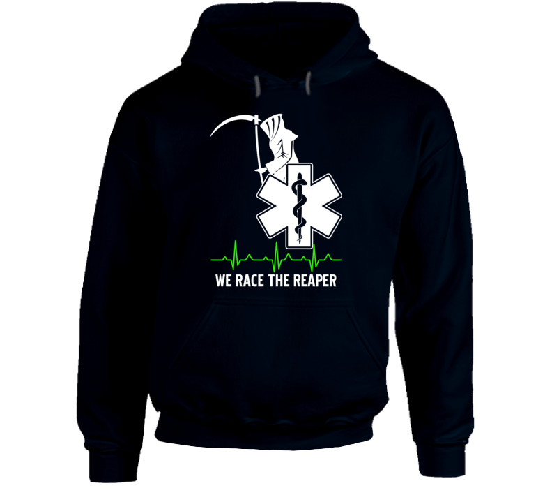 First Responders Race the Reaper Ambulance Hoodie