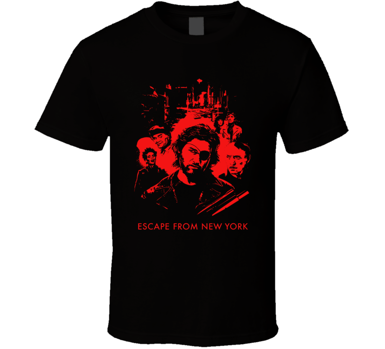 Escape From New York Carpenter Russell 80s Movie Fan T Shirt