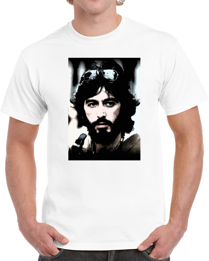 Serpico Al Pacino 70s Cop Cult Movie Cool Fan T Shirt