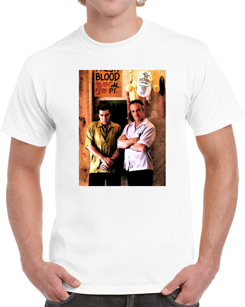Silvio And Paulie Sopranos Greatest Tv Funny Gangster Fan T Shirt