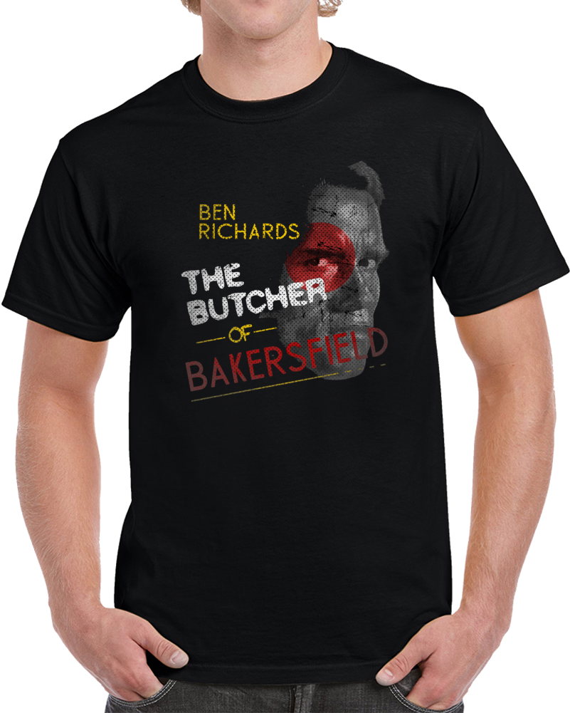 Running Man Arnold Butcher Of Bakersfield King Movie Fan T Shirt