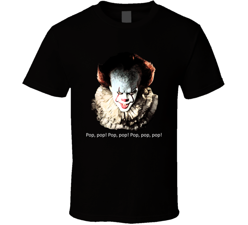 It Pennywise Horror Thriller Funny Movie Fan T Shirt