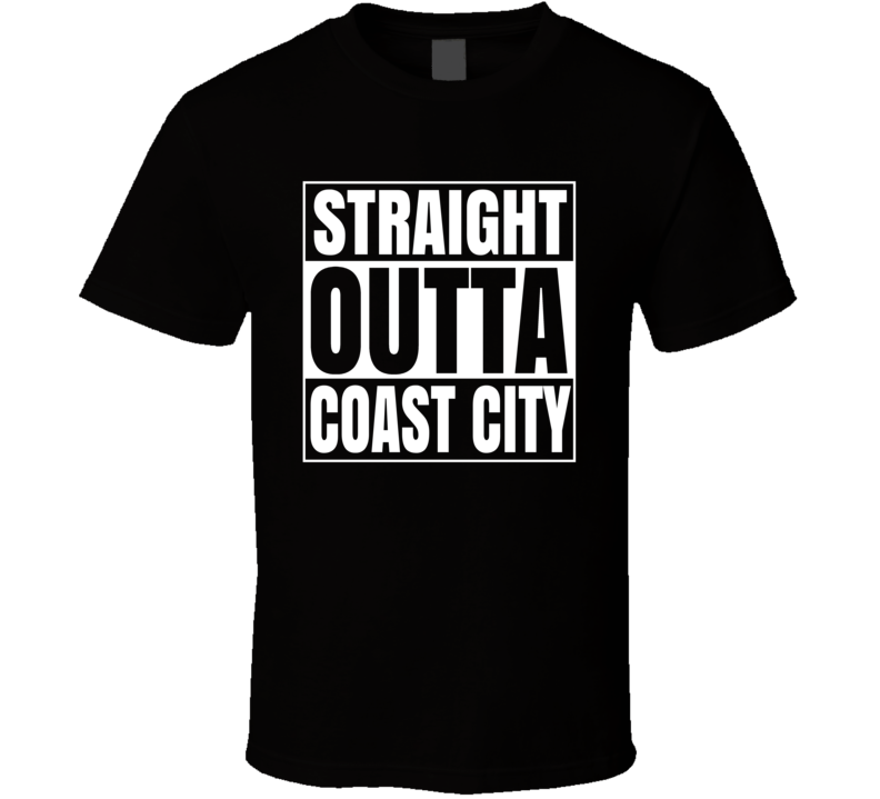 Straight Outta Coast City Green Latern Comic Superfan Cool T Shirt