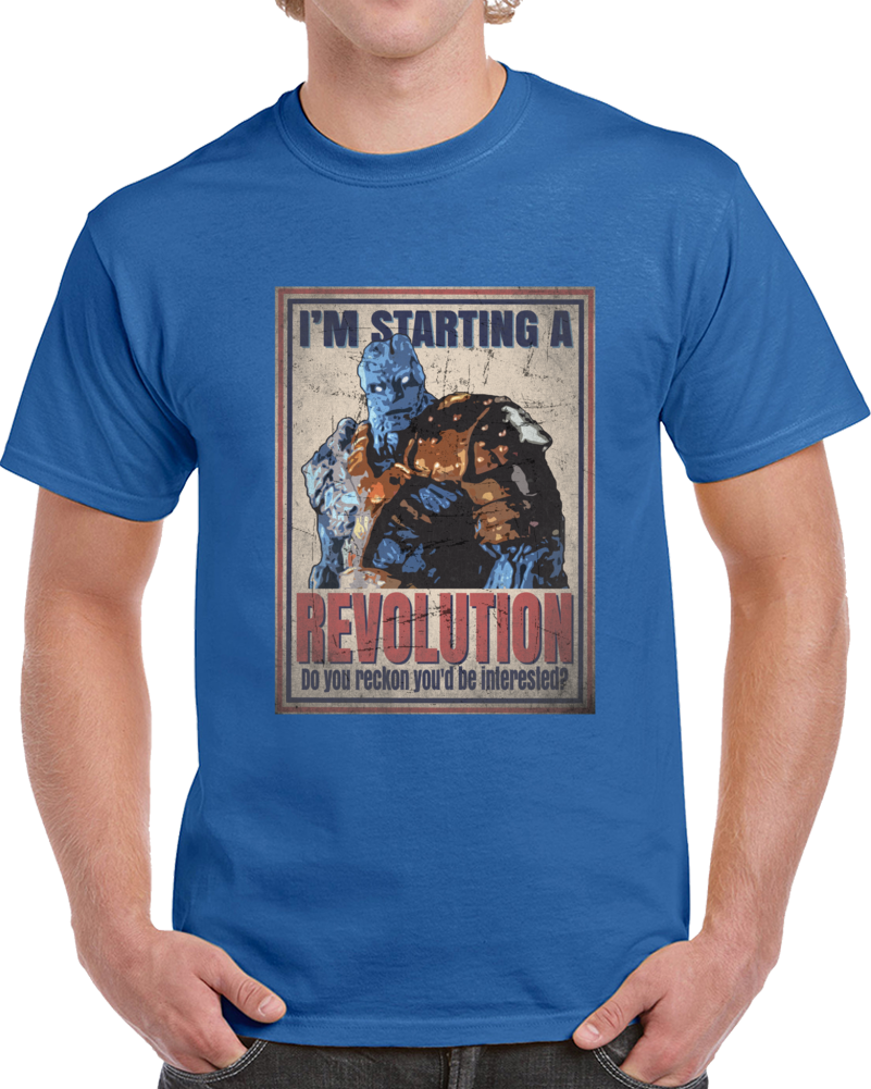 Korg Revolution Thor Comic Movie Superfan Cool T Shirt