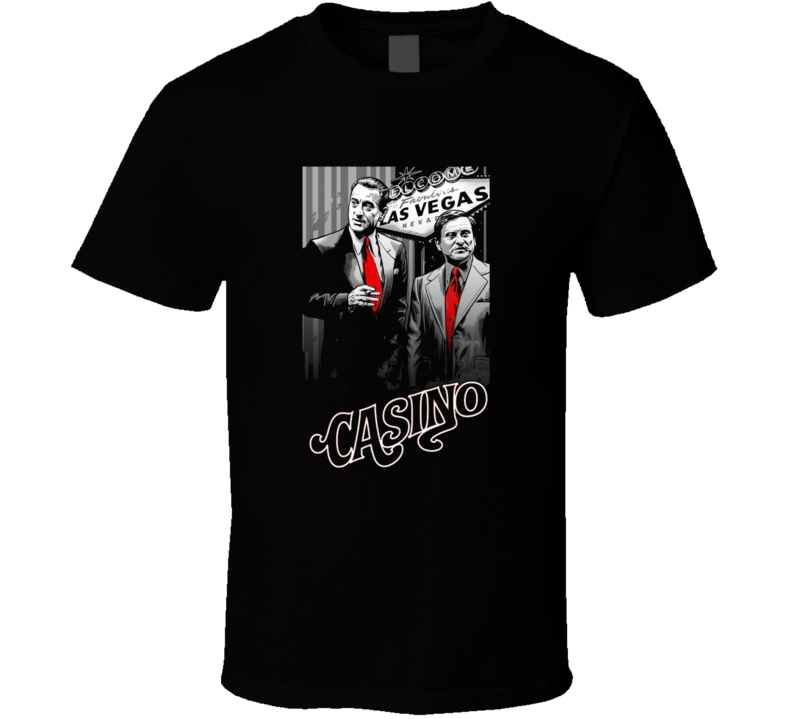 Casino De Niro Pesci Classic Las Vegas Movie Fan Cool T Shirt