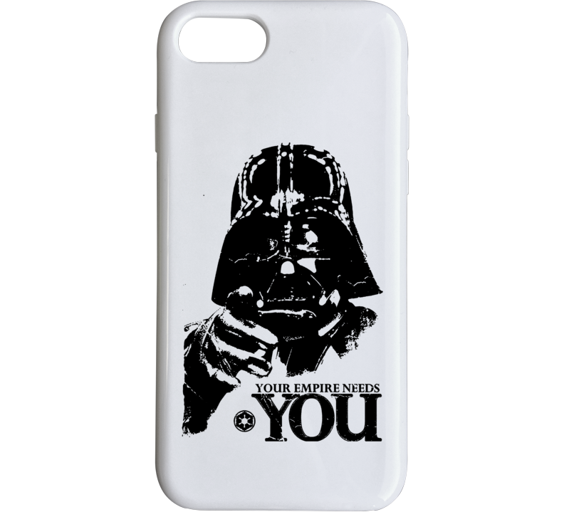 Darth Vader Parody Empire Needs You Recruiting Funny Fanboy Phone Case