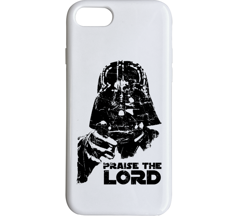 Praise The Lord Darth Vader Star Wars Movie Parody Funny Fanboy Phone Case