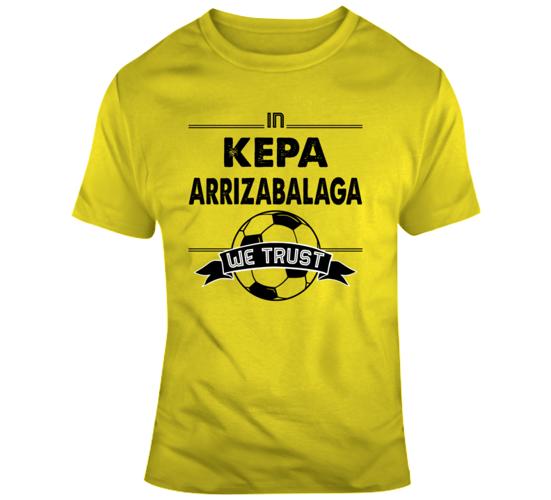 online store d32e4 73603 Kepa Arrizabalaga Spain Goal World Soccer Football Futbol T Shirt