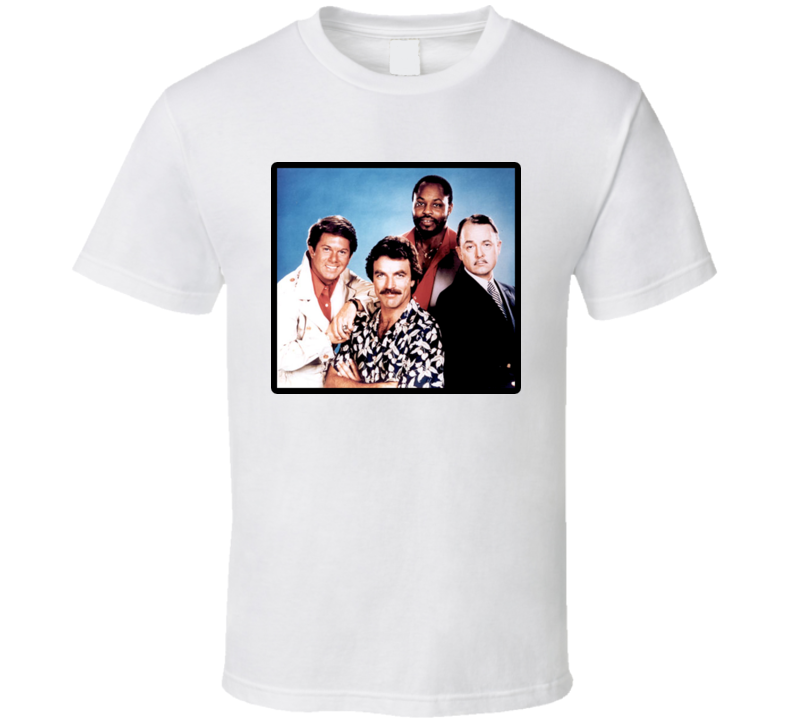Magnum PI tv show Tom Selleck T Shirt