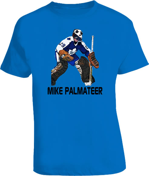 MIKE PALMATEER Leafs goalie retro t shirt