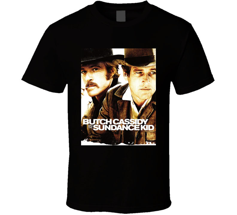 Butch Cassidy & the Sundance Kid Newman Redfordt shirt