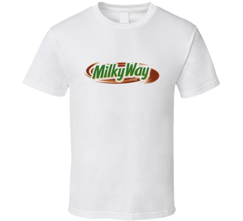 Milky Way Chocholate Candy Bar Food T Shirt