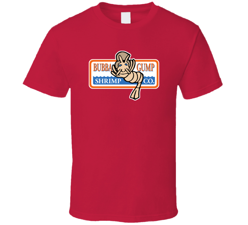 Bubba Gump Shrimp Fans Only T Shirt