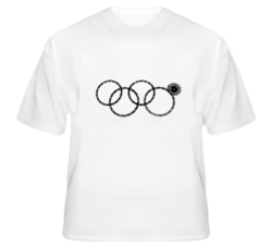 Olympic Ring Fail Sochi  Russia Winter Games t shirt