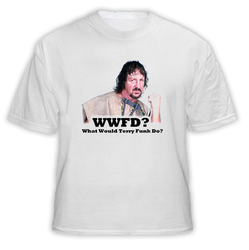 Terry Funk WWFD Wrestling What What Terry Funk Dot T Shirt