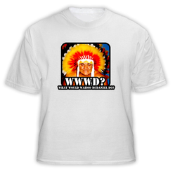 WWWD What Would Wahoo McDaniel Do Wrestling Classic T Shirt