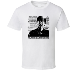 Hangover 2 Leslie Chow Quotes Funny Movie T Shirt