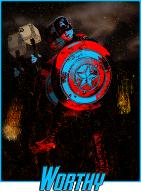 Captain America Return Mjolnir