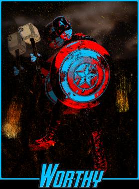 Captain America Return Mjolnir